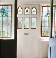 Front Porch#  Stained Glass #rossglassdesigns.com