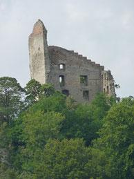Wanderung zur Ruine der Burg Altbodman