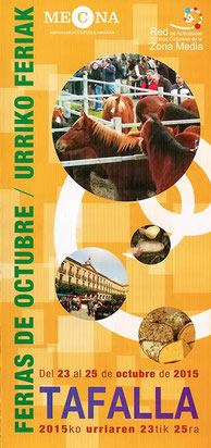 Ferias de Octubre en Tafalla 2015
