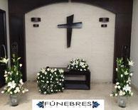 Paquete de arreglos florales para funerales, Entrega en la ciudad de mexico, alvaro obregon, san anagel