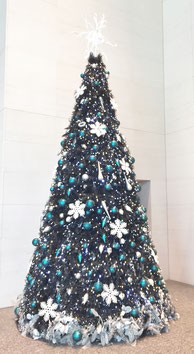 ミッドランドスクウェアーのクリスマスツリー