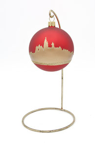 Boule de Nöel Panorama Mons boule en verre