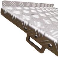 Aluminium Ladebrücke zu Bravo Motorkarretten