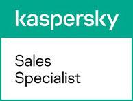Logo kaspersky Certified Sales Specialist