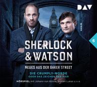 CD Cover Sherlock & Watson Fall 6