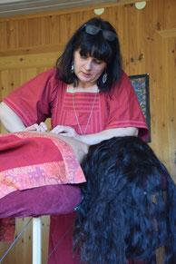 Schamanische Energiemassage bei Shantiwoman