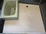 東リ バスナフローレ 施工 浴室 洗い場