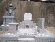 洋墓「永遠の栄え」:岡山市