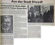 Westdeutsche Zeitung, 5.6.1962
