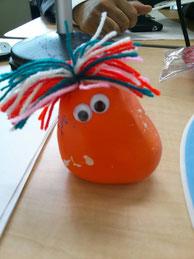 これが人気の、謎の小麦人形。塾長の前鬼もネットで注文したら、入荷待ちだとか・・。