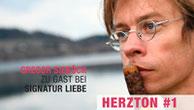 """Cover """"Herzton #1"""" mit Gregor Sieböck"""