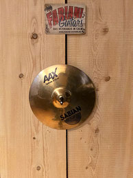 "Sabian 10"" Splash AAX Serie, Splash & Crash Schlagzeugbecken, Fabiani Guitars Calw, Nagold, Herrenberg"