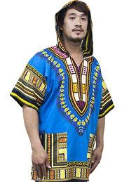 Lofbaz Robe Chemise Unisexe Africaine 75567