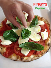 Pizza caprese Fingy's