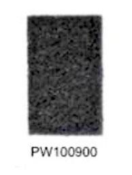 PW100900. Fibra Esponja Negra. Wonderfultools