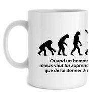 chasseur et son mug