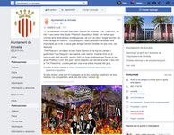 Facebook Oficial Ayuntamiento Xirivella (2018)