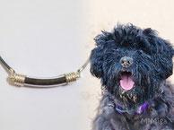 joya-artistica-con-pelo-animal-mi-miga-collar-cuero-plata-ley-tubo-cristal-perro-bolo