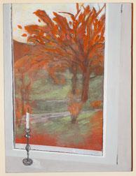 Blick aus meinem Fenster (am Mattenbach) II (Ursula Breitenmoser)