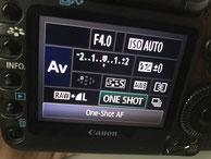 One Shot / Fokussierung