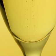 Der Moussierpunkt wird am Boden des von Ihnen gewünschten Kelchglases angebracht und hat zur Folge, dass das im Getränk gelöste Kohlenstoff-Dioxyd sich leichter zu einer Blase entwickeln kann und dadurch aufperlt bzw. moussiert.