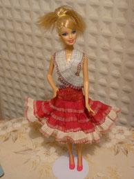 Deuxième barbie habillée par Noëlle