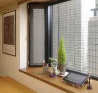 事務所の出窓
