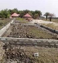 Fundamentbau für Schulhaus DYARAMA in Taayaki