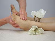 Reflexmassage am Fuß - Bild