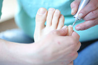 Professionelle Fußpflege - Bild