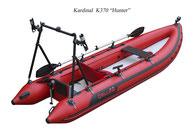 Schlauchboot Kardinal K370 Hunter Explorer inflatable boat Zeck Allraundmarin Zeepter Kolibri
