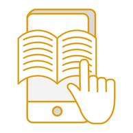 Icône articles de blogue pour travailleur autonome Académie des Autonomes inc.