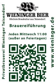 SB-Tankstelle - Biere von der regionalen Privatbrauerei M.C. Wieninger