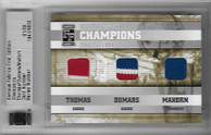 THOMAS  DUMARS  MAHORN / Champions  (#d 1/9)