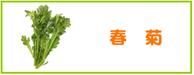 春菊 レシピ
