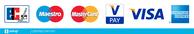 Kartenzahlung möglich (ausser Postcard)