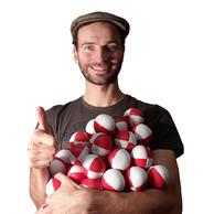 Jonglierbälle: Drei gute Jonglierbälle zum Jonglieren lernen