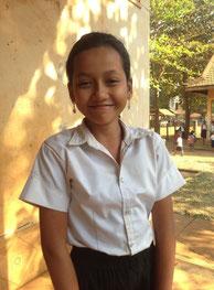 セン・シモンさん(11歳)   ダムリル小学校