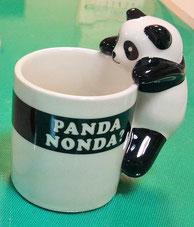 『相棒』に登場する通称ヒマカップ(Ⓒ愛龍社)です。コーヒーや紅茶が程よく入ります(^^)