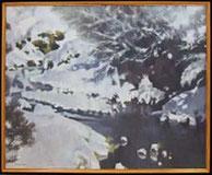 雪の龍ヶ渕/武石 錦夫