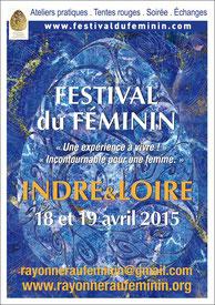 Festival du Féminin en Touraine, Association Rayonner au Féminin - Via Energetica