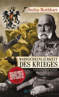 Wahrscheinlichkeit des Krieges (2018), 26Twentysix-Verlag