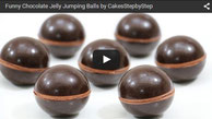jelly chocolate balls