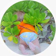 Windeln Milch Babyartikel auf den Seychellen