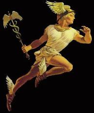 Hermès, messager des dieux