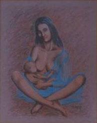 Madre che allatta