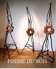 Trois fleurs sauvages - Roman GORSKI (Poésie du bois)