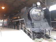 C62形蒸気機関車(26号機)