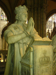 Orant de Louis XVI, à Saint-Denis. (Source : Alexis CERISIER-AUGER)