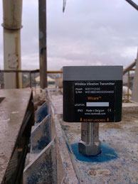 Wi-care Sensor mit Funktechnik, mit Magnetbefestigung